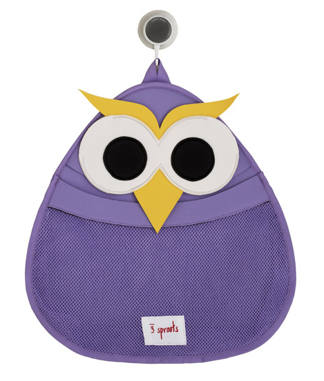 Owl bath storage caddy | 3 Sprouts