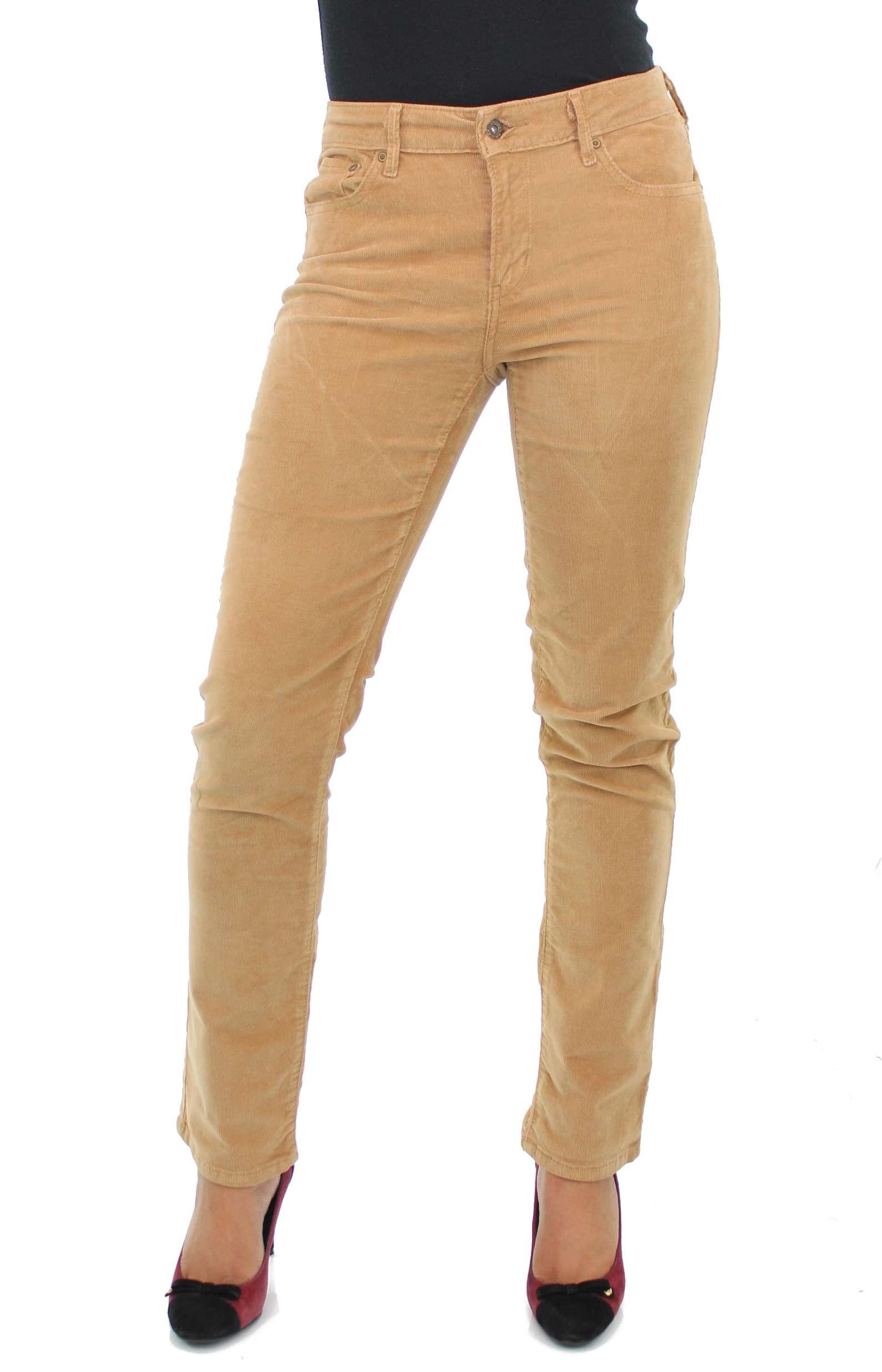 Creative Leviu0026#39;s 8403 Womens 515 Brown Mid-rise Corduroy Pants Petites 10p BHFO | EBay