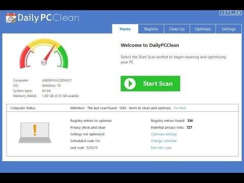 Remove DailyPCClean