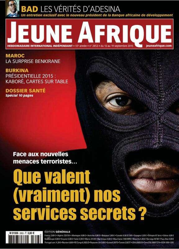 Jeune Afrique - 13 au 19 September 2015