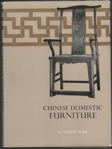 Chinese Domestic Furniture, ECKE;Gustav