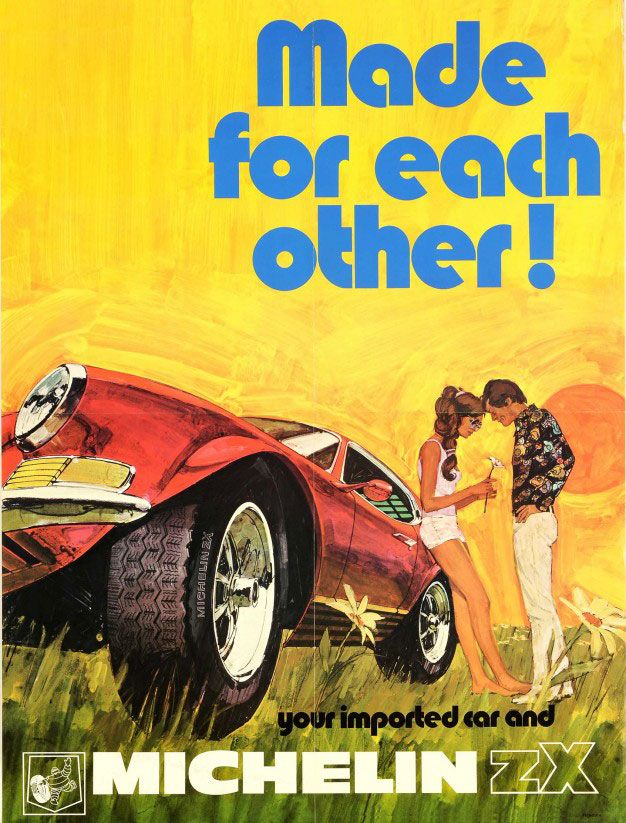 Your imported car and Michelin ZX tyre. Made for each other!