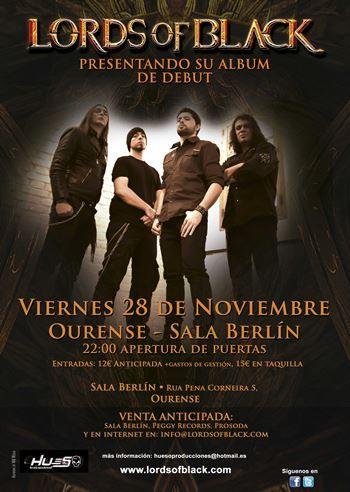 Lords of Black - cartel ourense