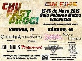 Chu Fast Prog! cartel