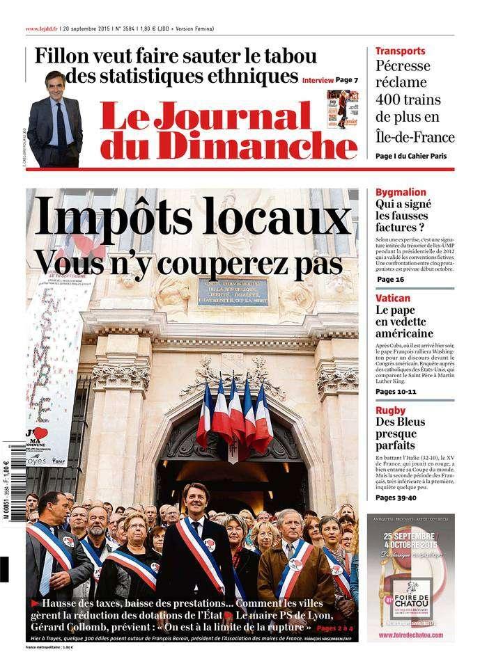 Le Journal du Dimanche - 20 Septembre 2015