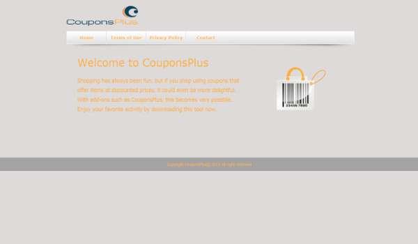 Удалить CouponsPlus Объявления