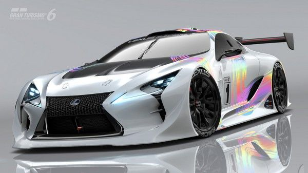 Gran Trismo 6 Update 1.17 Lexus LF-LC GT Vision Gran Turismo Alipine  n7thGear sim racing news motorsport news racing