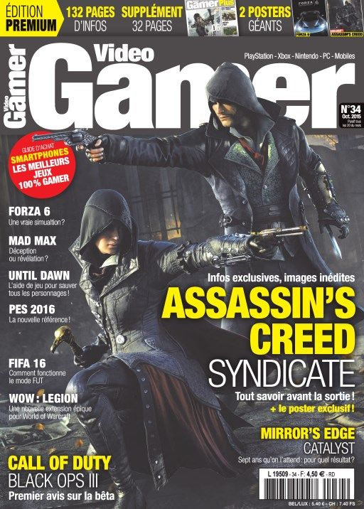 Video Gamer 34 - Octobre 2015