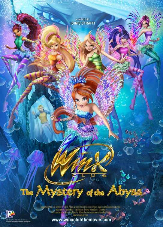 Winx Club - Il Mistero Degli Abissi (2014) DVD9 Copia 1:1 ITA Sub DDN