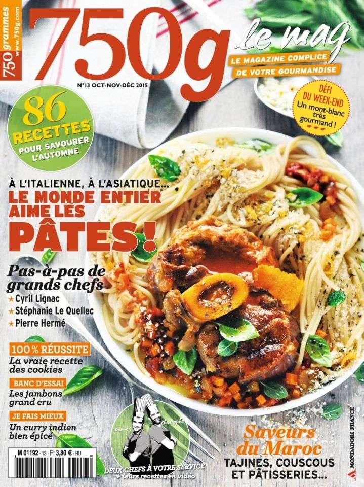 750g Le mag 13 - Octobre-Décembre 2015