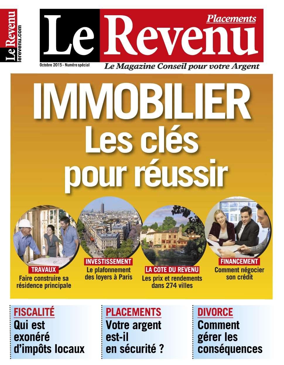 Le Revenu Placements 154 - Octobre 2015
