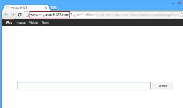 Remove Mysearch123.com