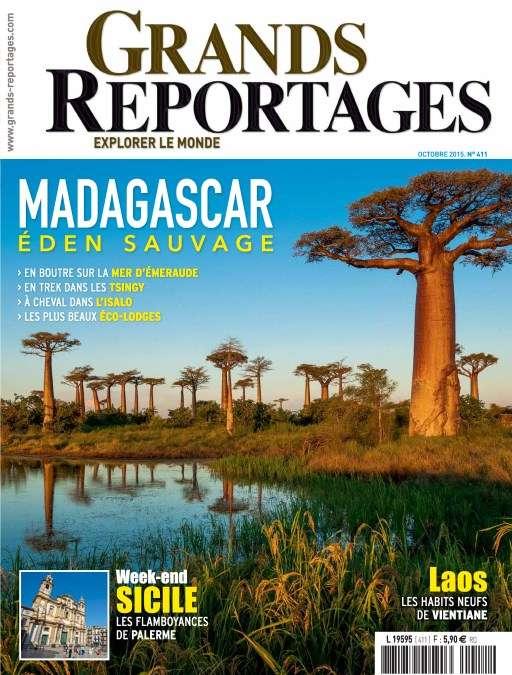 Grands Reportages 411 - Octobre 2015