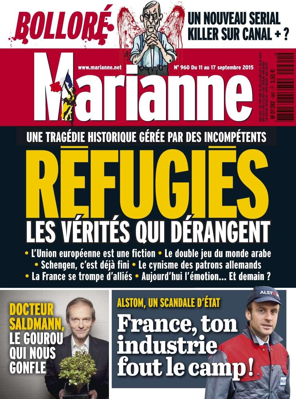 Marianne 960 - 11 au 17 Septembre 2015
