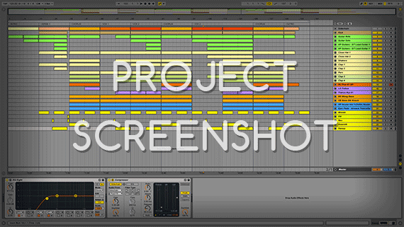 Ableton Live Template / Project Screenshot