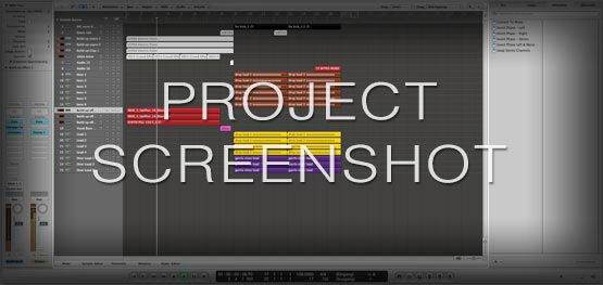 Logic Pro Template Screenshot Template / Project