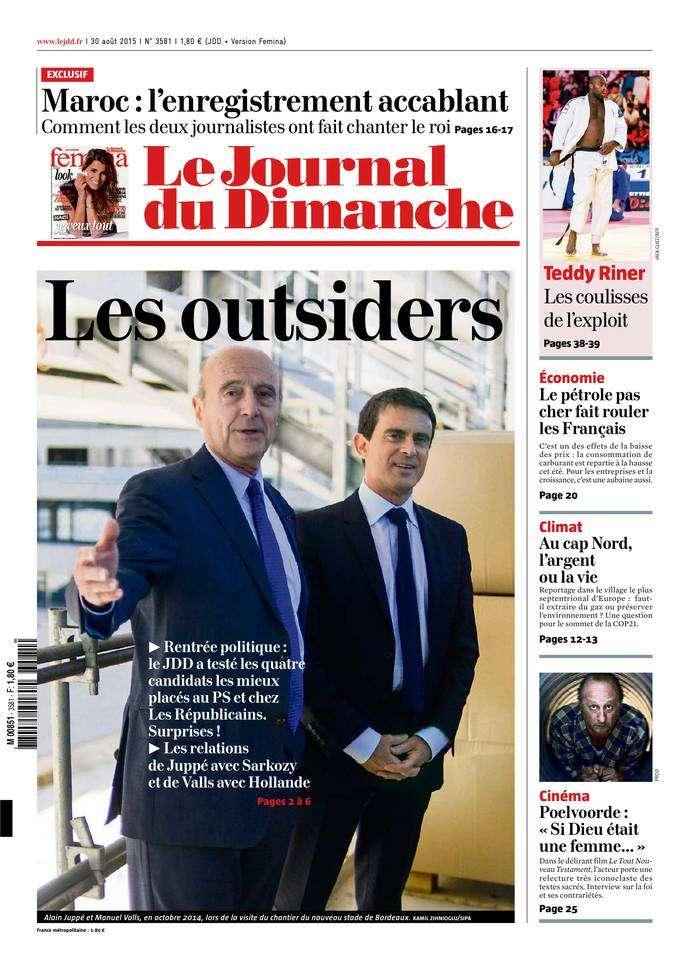 Le Journal du Dimanche 3581 du 30 août 2015