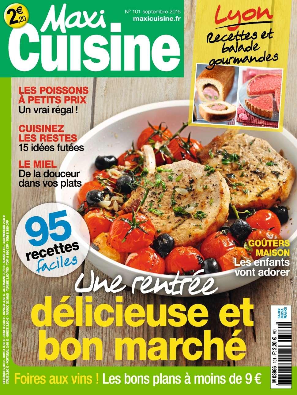 Maxi Cuisine 101 - Septembre 2015