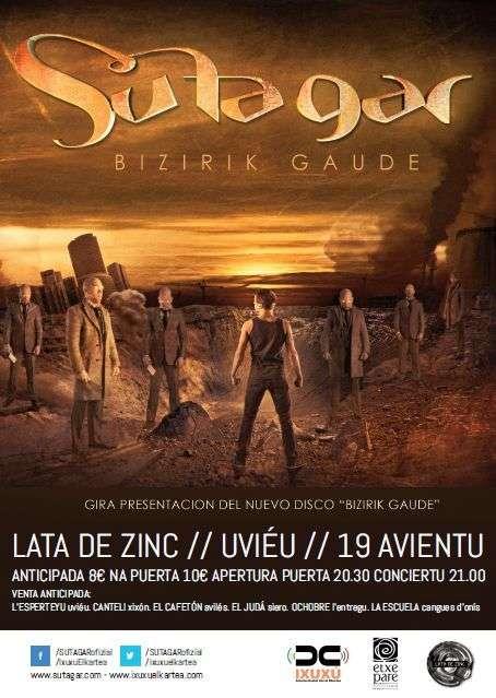 Su Ta Gar Asturias cartel