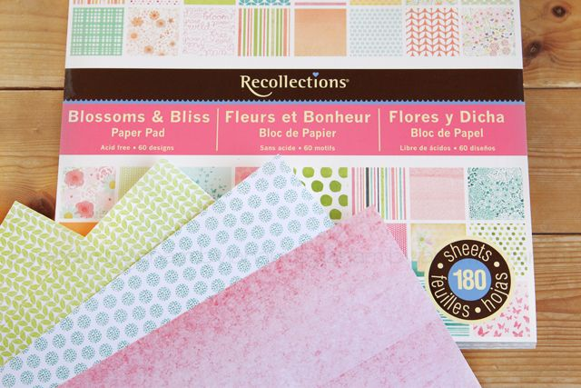 Lichtmalerei » New In - Design-Papier Recollections Blossoms & Bliss Paper