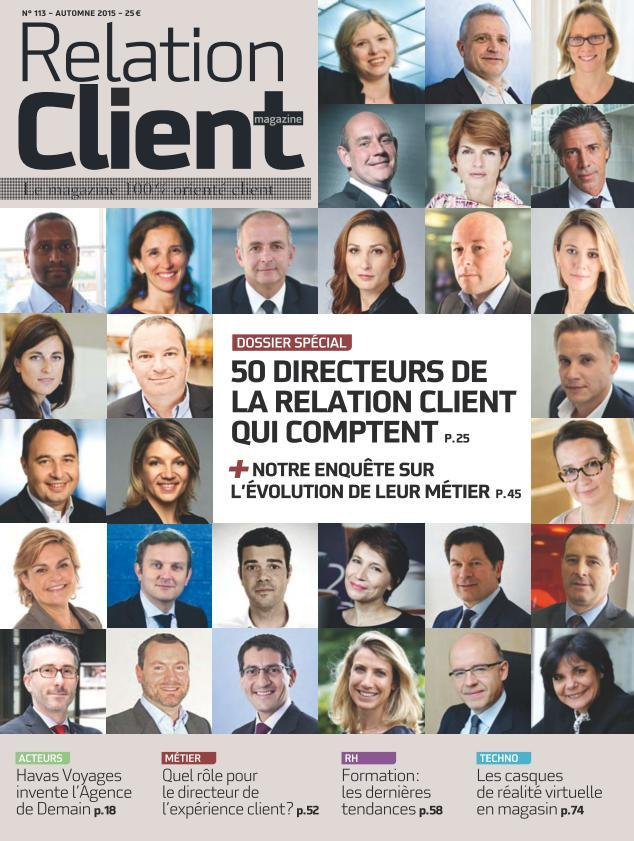 Relation Client Magazine - Automne 2015
