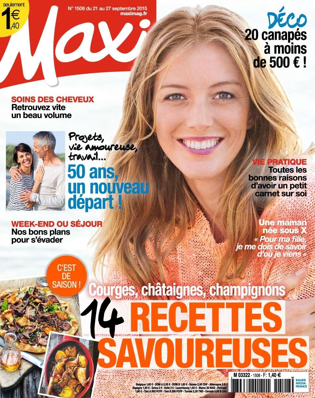Maxi 1508 - 21 au 27 Septembre 2015