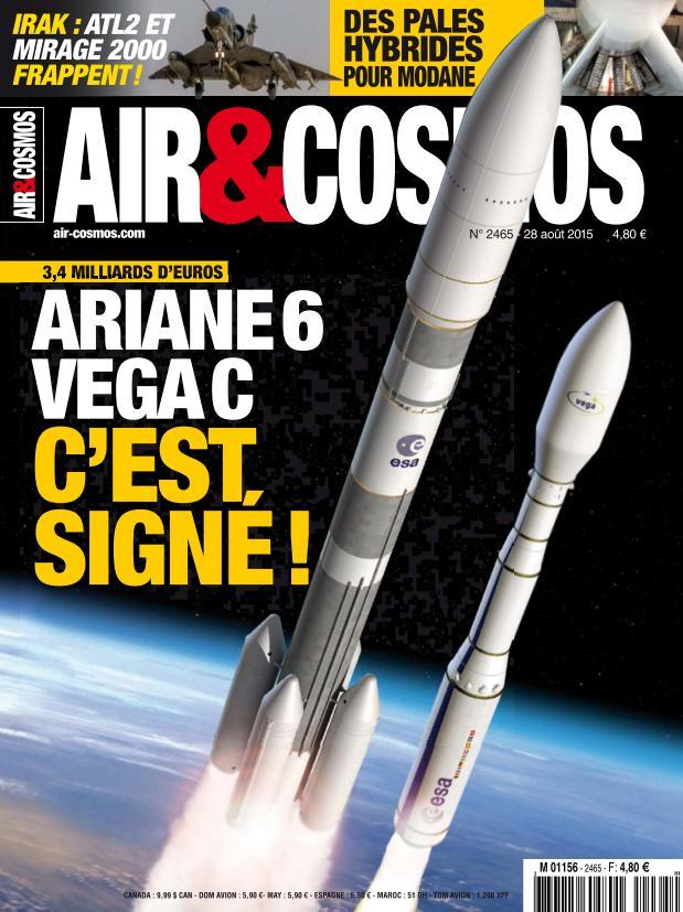 Air & Cosmos 2465 - 28 Août au 3 Septembre 2015