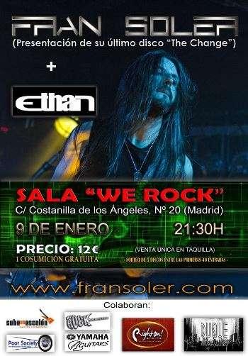 Fran Soler presentación Madrid cartel