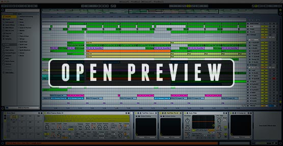 Ableton Live Project Screenshot Preview