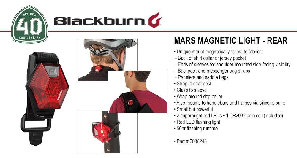 NEW BLACKBURN Local 15 Super Bright Rear Bike Light Red