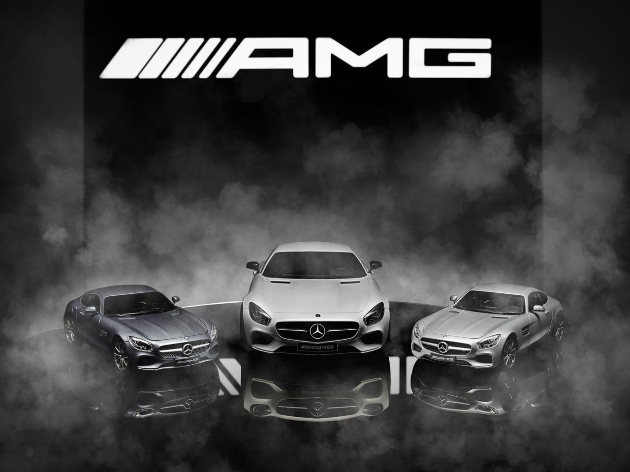 Mercedes-AMG GT S Scale Models