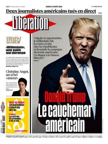 Liberation Du Jeudi 27 Août 2015