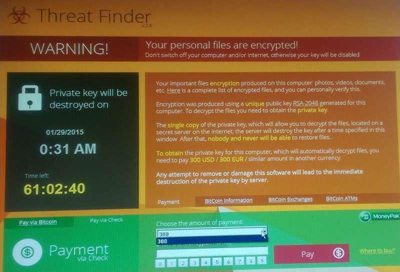 Remove Threat Finder