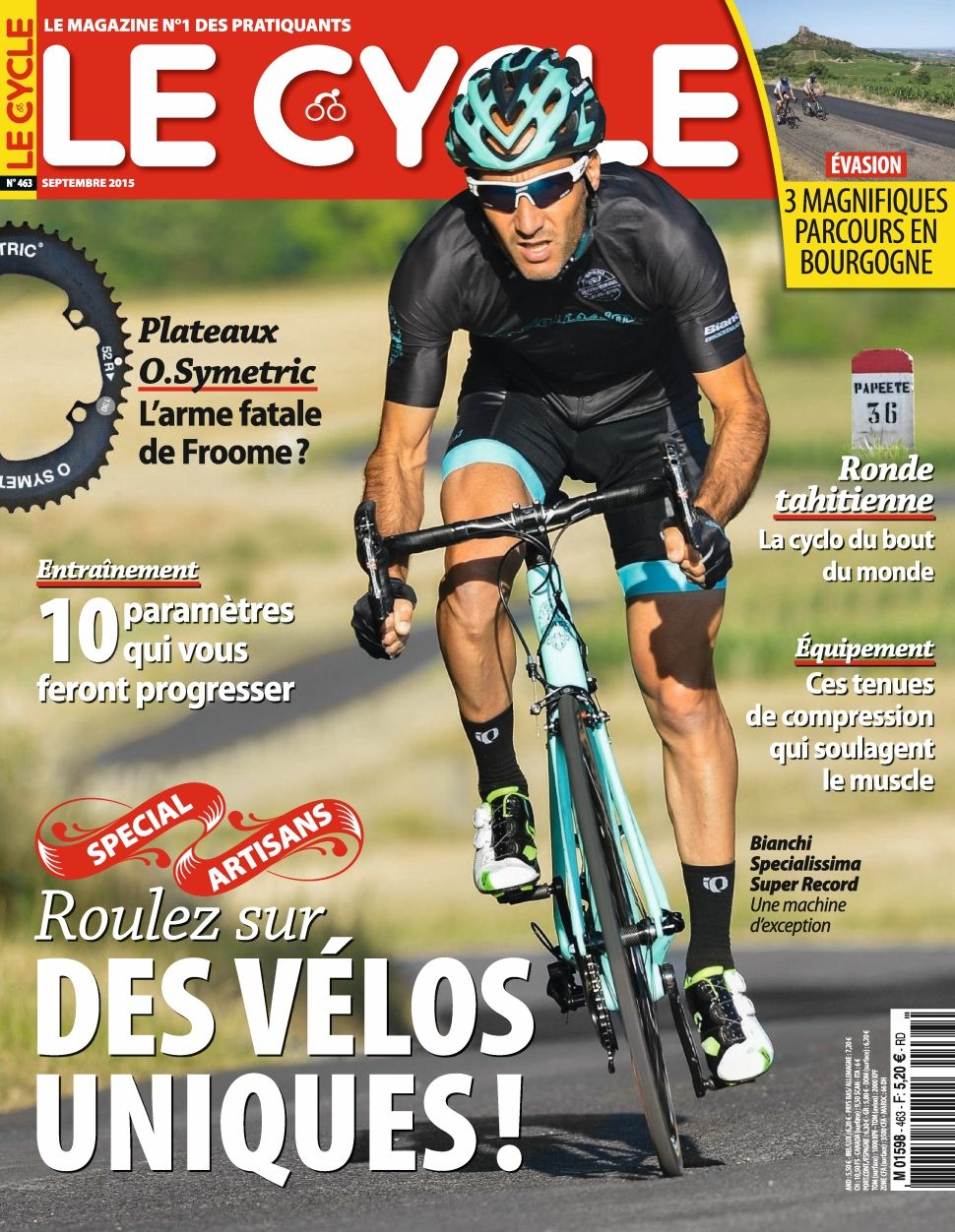Le Cycle 463 - Septembre 2015