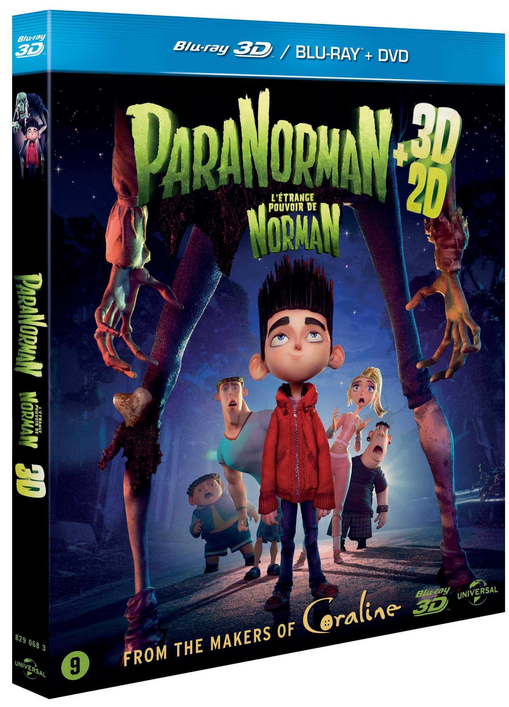 Paranorman (2012) Blu Ray Full [3D+2D] AVC DTS-HD END DTS ITA Sub - DDN