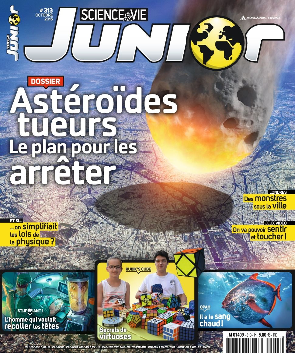 Science & Vie Junior 313 - Octobre 2015