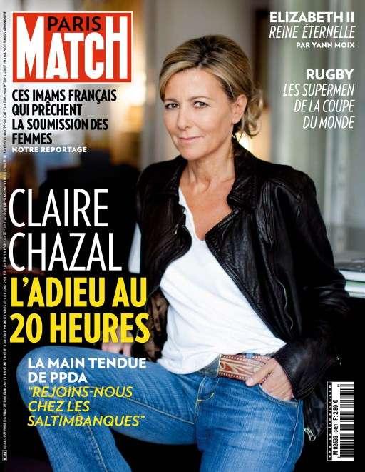 Paris Match 3461- 16 au 23 September 2015
