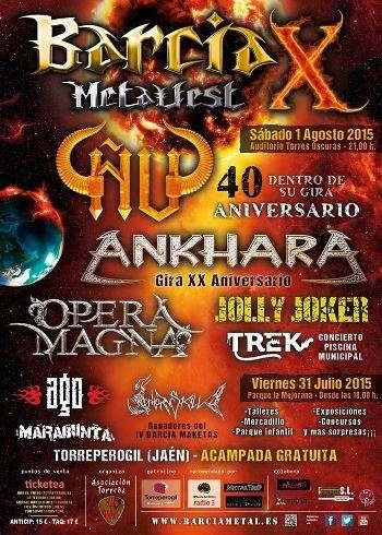Barcia Metalfest cartel