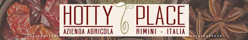 HOTTY PLACE peperoncino piccante tropicale aromatico, spezie, ortaggi, erbe aromatiche