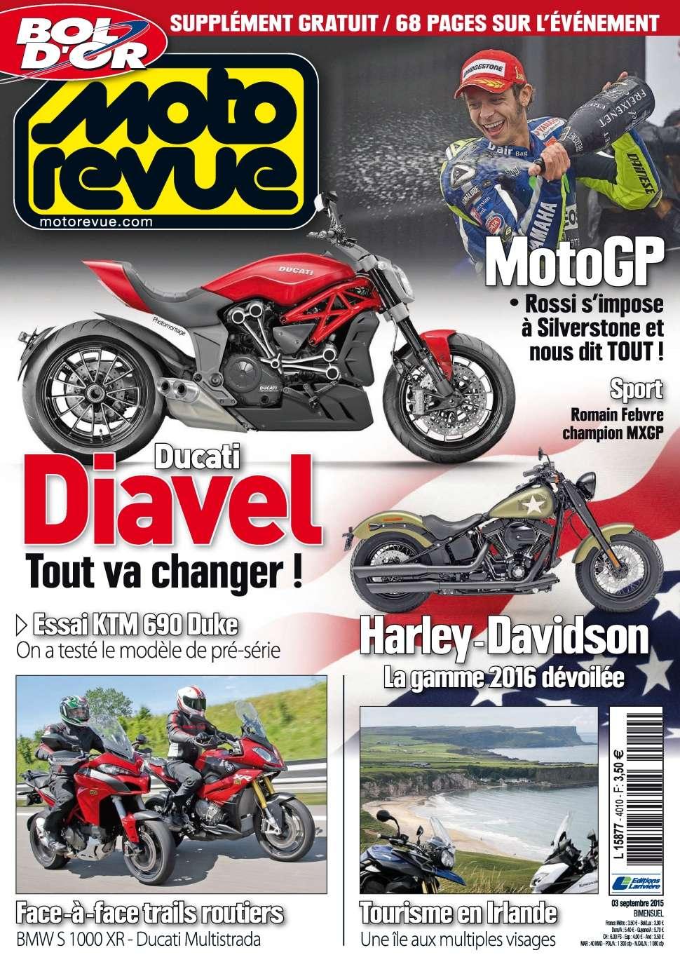Moto Revue 4010 - 3 Septembre 2015