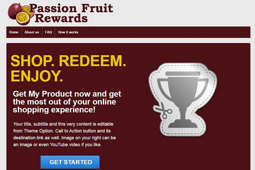 Remove Passion Fruit Rewards