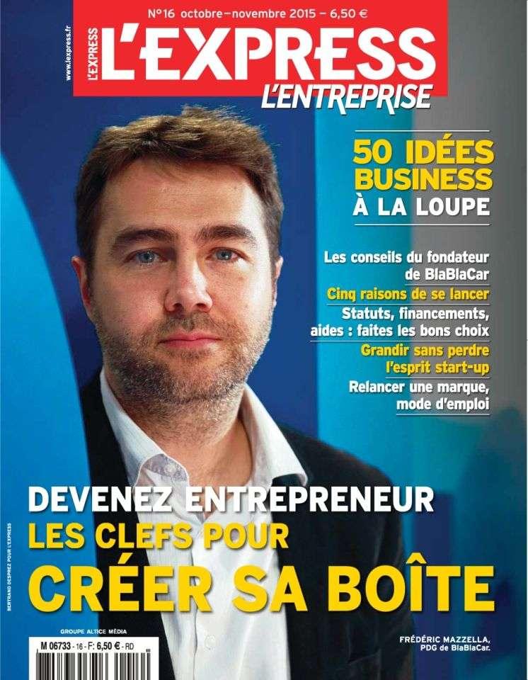 L'Express HS L'Entreprise 16 - Octobre-Novembre 2015