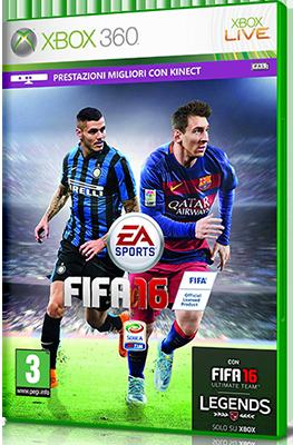 [XBOX360] FIFA 16 (2015) - FULL ITA