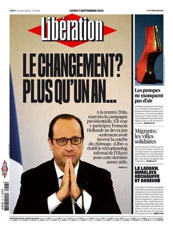 Liberation Du Lundi 7 Septembre 2015