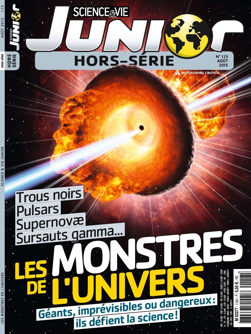 Science & Vie Junior Hors-Série 113 - Août 2015