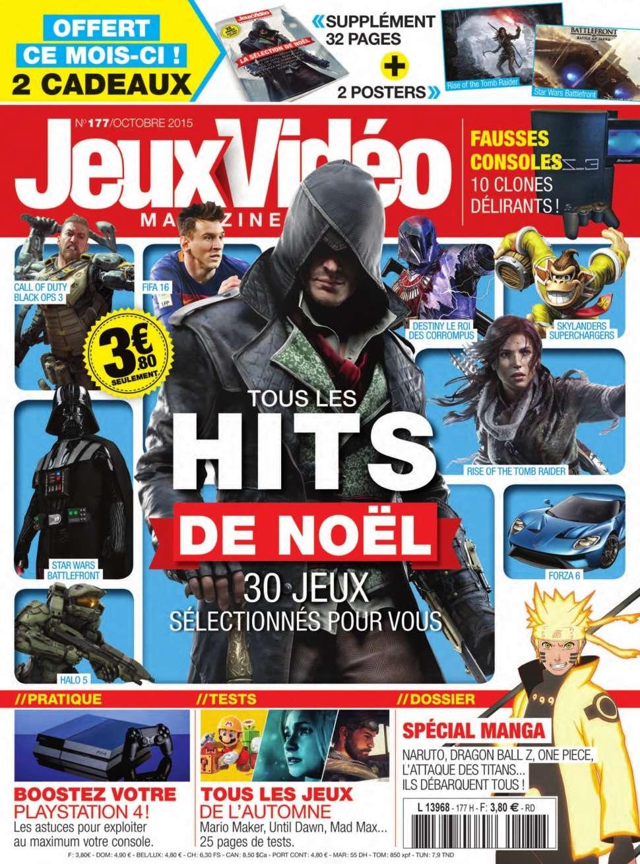 Jeux Vidéo magazine 177 - Octobre 2015