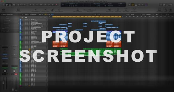 Logic Pro X Screenshot Project / Template