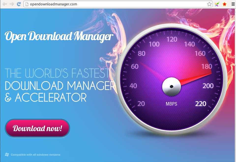 Verwijder Opendownloadmanager.com