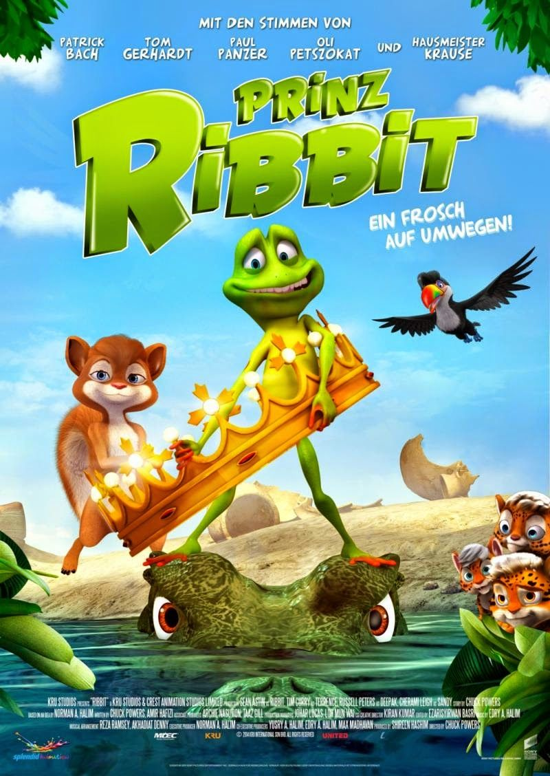 Ribbit ริบบิท ชื่อกบ ไม่อยากเป็นกบ HD 2014