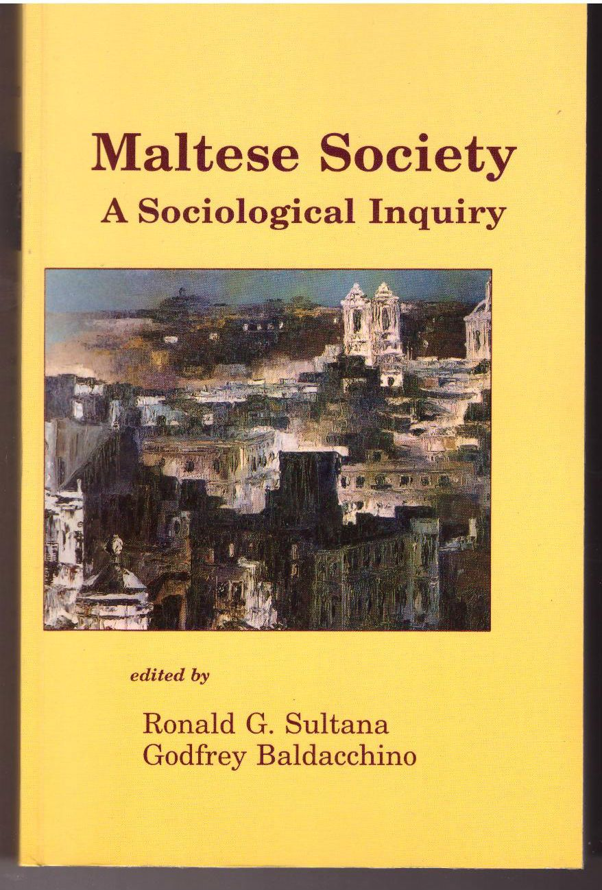Maltese Society: A Sociological Inquiry
